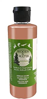 product image for Badger Air-Brush Co. 16-Ounce Woods and Water Airbrush Ready Water Based Acrylic Paint, Pearl Bronze