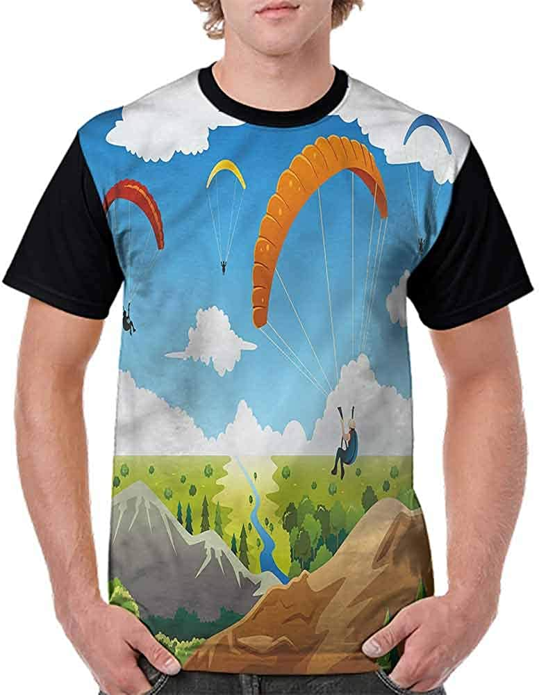 Teen t-Shirt,Colorful Exotic Funny Fashion Personality Customization