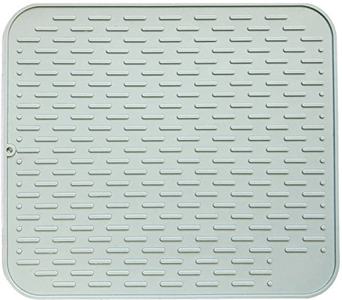Dish Drying Large Silicone Mat for Dry Kitchen and Counter H
