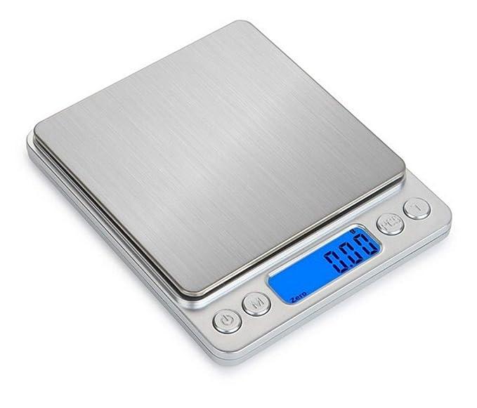 Básculas de Cocina Kitchen Scale Pantalla LCD Digital ...