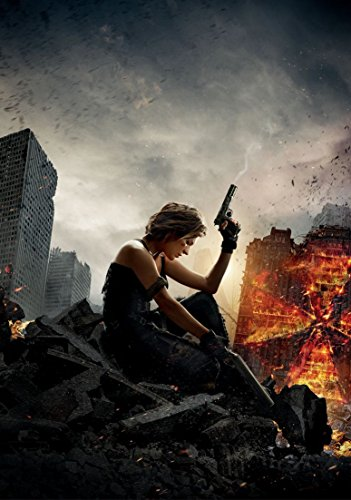 Resident Evil The Final Chapter Movie Poster 18 X 28 Inches