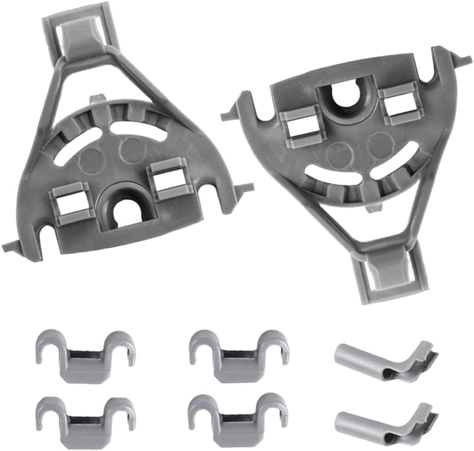 00428344 Dishwasher Bearing Tine Row Clips for Bosch & Thermador & Kenmore Dishwasher Replaces 00418499