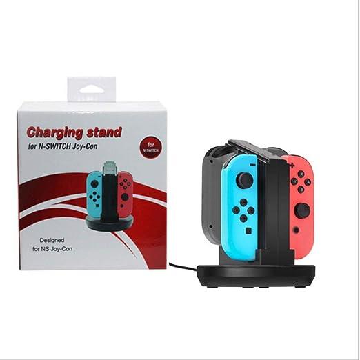 hydens - Base de Carga 4 en 1 para Nintendo Switch Joy-Cons ...
