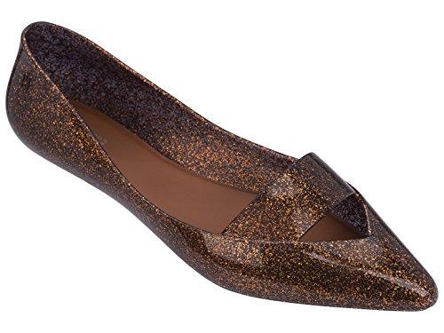 Bronze Ensemble - Melissa Shoes Women's Maisie Bronze Glitter 9 M US