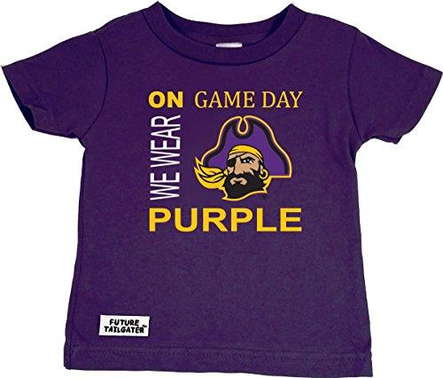 Future Tailgater East Carolina ECU Pirates On Game Day Baby/