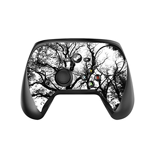 Spooky Black Trees Silhouette Steam Controller Vinyl Decal Sticker Skin by Moonlight Printing
