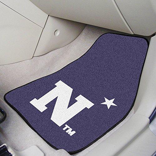 Fanmats U.S. Naval Academy 2-pc Carpet Car Mat Set/17