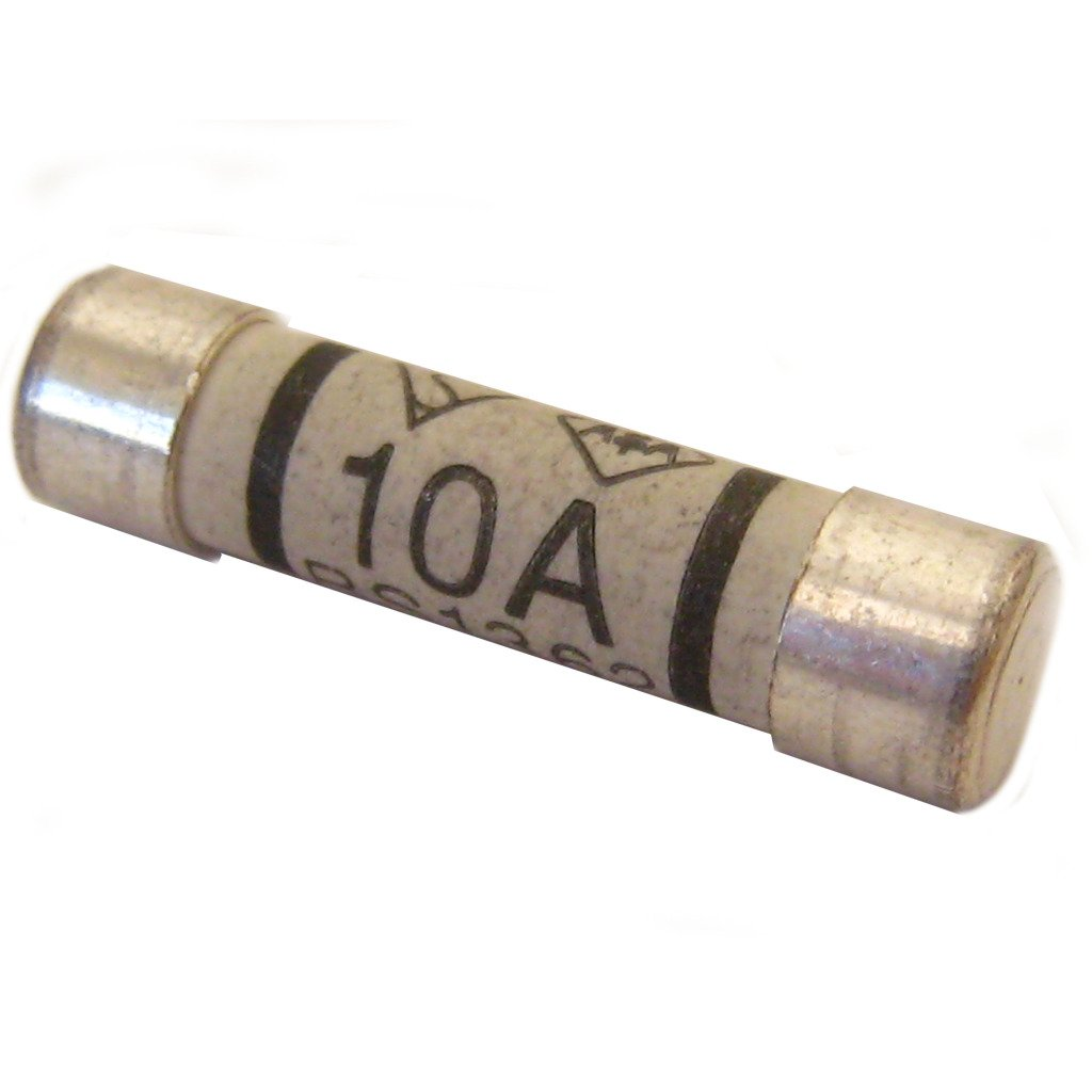 All Trade Direct 5 X 10 Amp Domestic 240V Household Mains Plug Fuse Electrical Cartridge Fuses