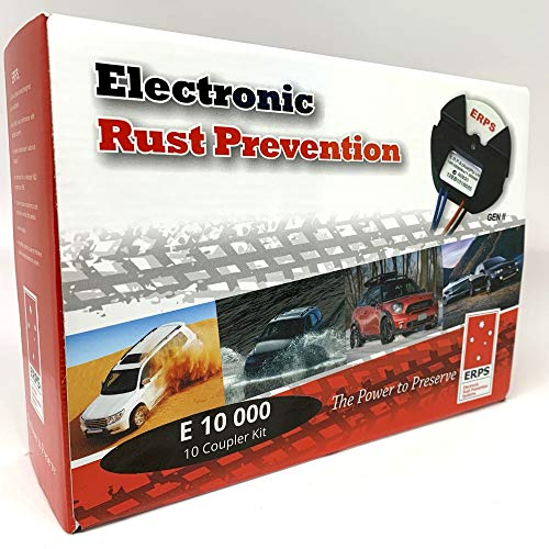Electric Rust Prevention Systems E10000 Self Install Kit for Motor Vehicle RV Truck 4x4 4WD SUV Car, Anti-Corrosion Protection Proofing, Made In Australia, 10 Year Worldwide Warranty, 25 Year Business