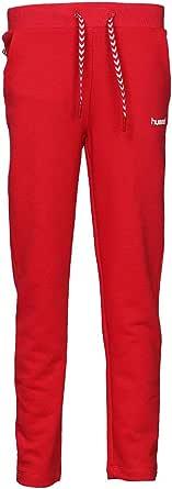 Hummel Skinny Pant for Girls, Color Red - Size 10