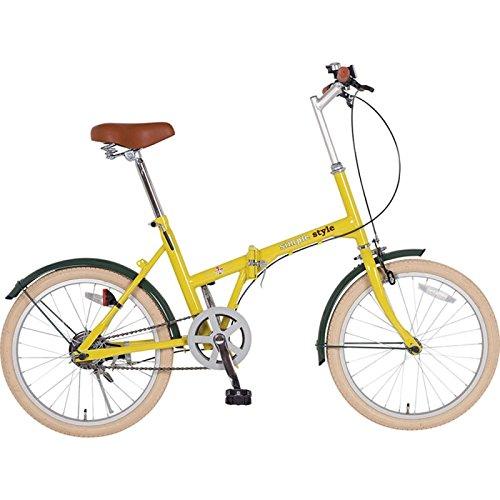 シンプルスタイル 自転車 折畳 H20COL C/ハーヴェストイエロー SS-H20COL/HYL B01AYXTD5U