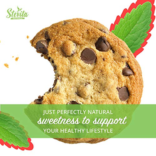 Stevita Stevia Organic Spoonable Stevia Powder - 50 Packets - Stevia & Erythritol All Natural Sweetener, No Calories - USDA Organic, Non GMO, Vegan, Keto, Paleo, Gluten-Free - 50 Servings by STEVITA (Image #7)