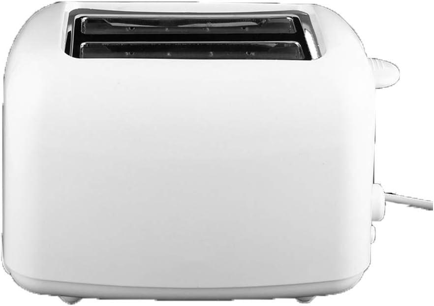 Máquina de pan completamente automática, máquina de desayuno de acero inoxidable para descongelar el calentamiento de sándwiches de pan, etc. Hogar multifunción ajustable de 7 velocidades-White: Amazon.es: Hogar