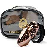 ThinkMax Adult Sexy Toys Male Designer Gold Edition Chastity Deveices Small /Standard Cage Penis Ring Lavish and Luxurious Toys for Man