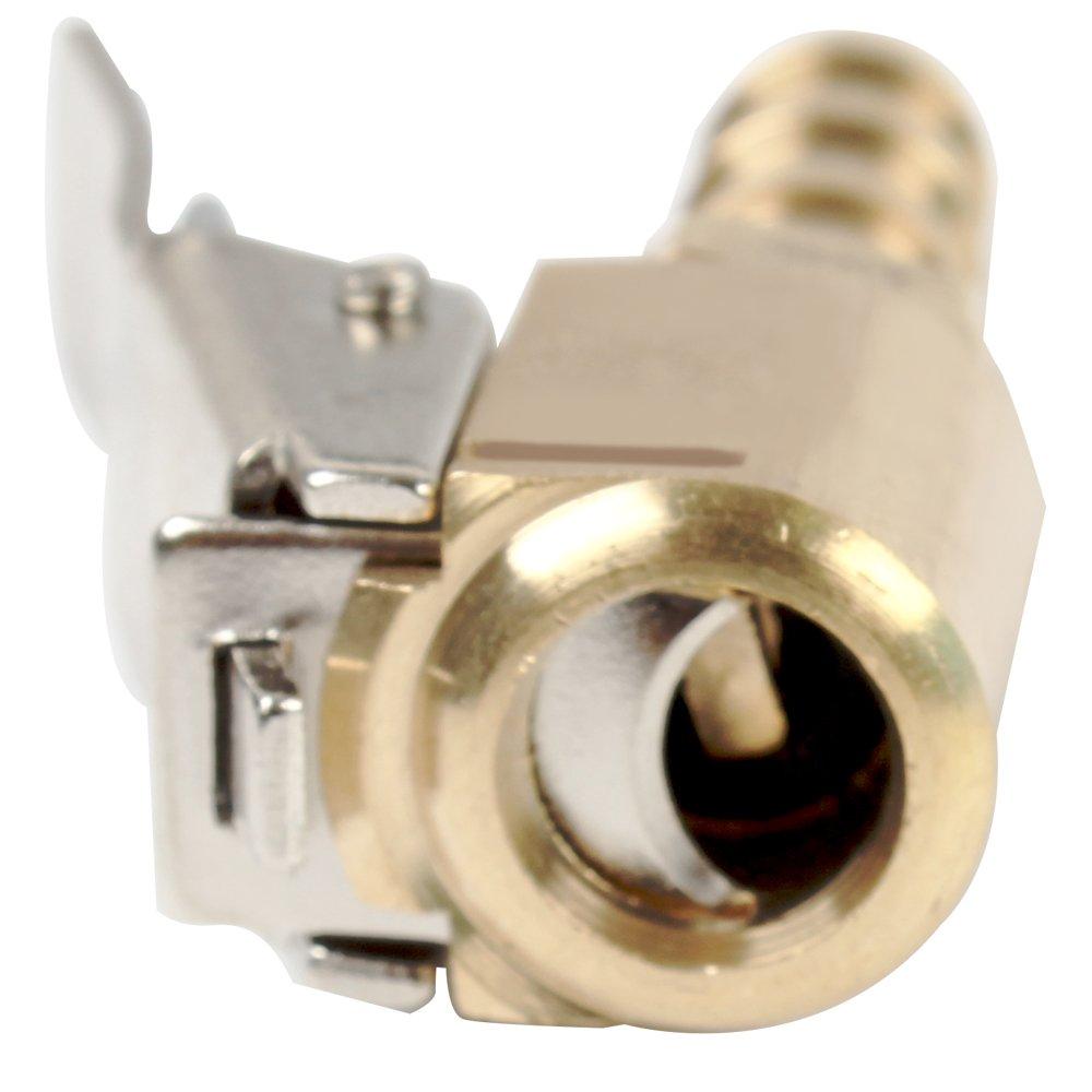 Holdream Auto LKW Reifen Reifen Messing Ventilstecker Luftpumpe Clip Inflator Ventilklemme 1pcs 8mm