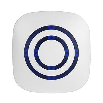 SELUXU Timbre inalámbrico Sensor de Movimiento Inducción Impermeable Alarma Timbre Bienvenido Tienda Banco Timbre