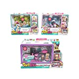 Twozies Two Cool Ice-Cream Cart, Two Cool Row Boat, and Two Playful Cafe Bundle by Twozies