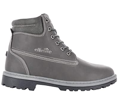 a647ad91201 ellesse Italia Oslo Herren Boots Gris Chaussures Homme Baskets Top ...
