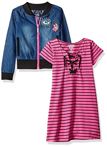 Limited Too Little Girls' Dress With Sweater Or Jacket (More Styles Available),...