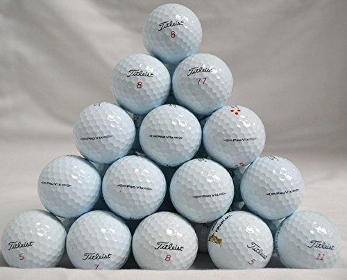 48 Titleist ProV1X Mixed High Numbers 4A Golf Balls