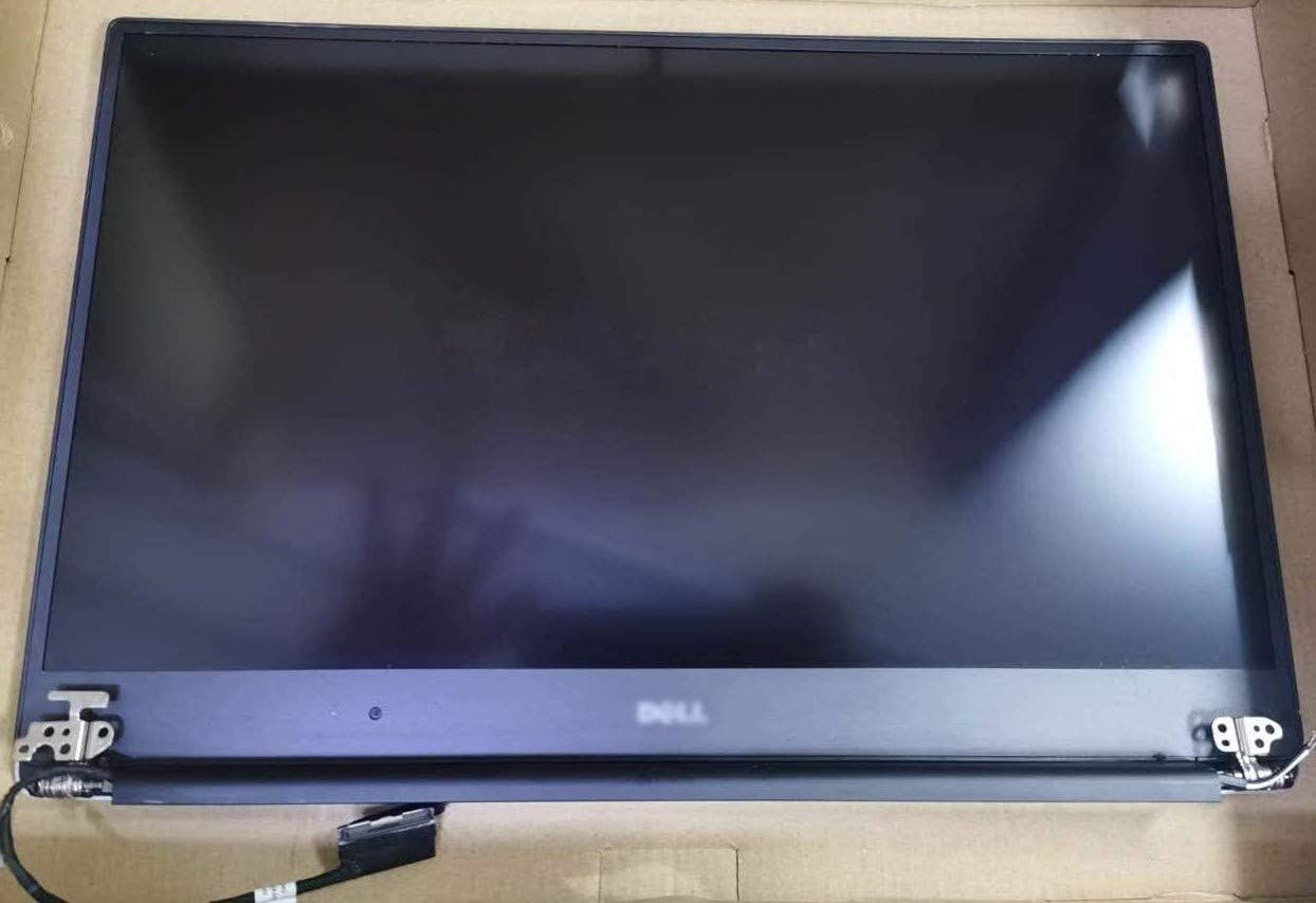 """15.6"""" UHD 4K (3840X2160) IPS LCD Screen LED Display + Touch Digitizer Frame Complete Assembly with Cable Cover Hinges 0HHTKR for Dell XPS 15 9550 9560 Precision 15 5510 5520"""