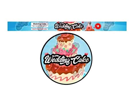 Amazon com: WEDDING CAKE Pressitin Tuna Tin Strain Labels