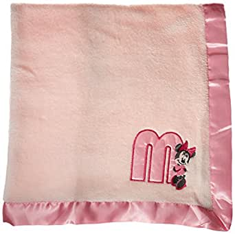 Amazon Com Disney Minnie Mouse Plush Satin Trim Baby