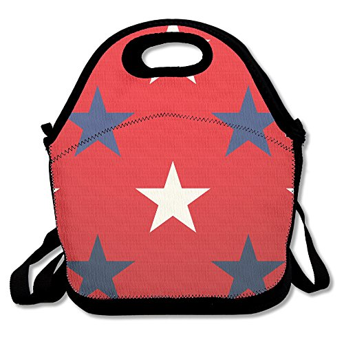 MAGGIE SALAS Stars Background Comfortable Lunch Bag Travelling Picnic Storage Bags Backpack - Christmas Crossword Worksheet