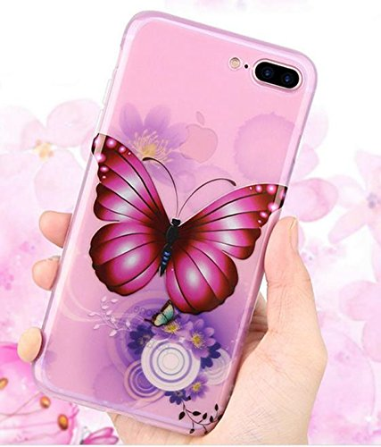 Butterfly Inspirationc Anti Scratch Shockproof Inch Pink