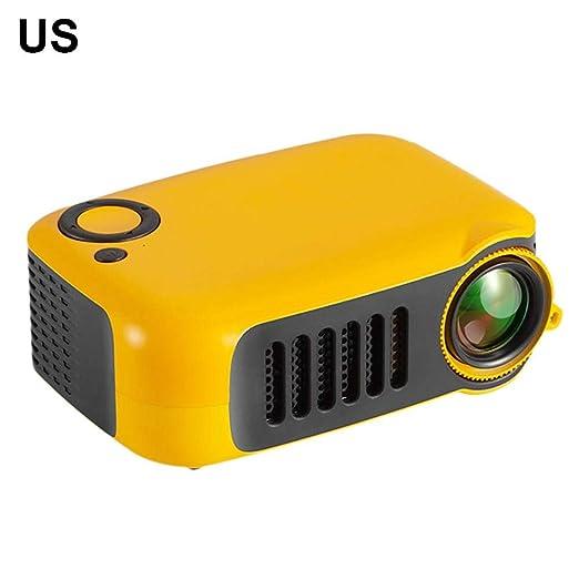 Zihui Mini Proyector Portátil A2000 Soporte 1080P, Pantalla MAX 80 ...