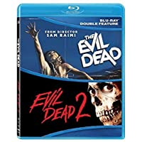 Deals on The Evil Dead 1 & 2 Double Feature Blu-ray