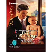 More Than Perfect (Billionaires And Babies Book 24)