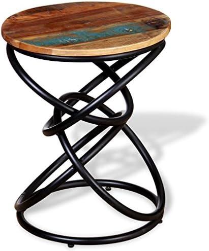 Veilig Betalen Tidyard bijzettafel van hout en ijzer, 40 x 50 cm, meerkleurig  idPO4Pb