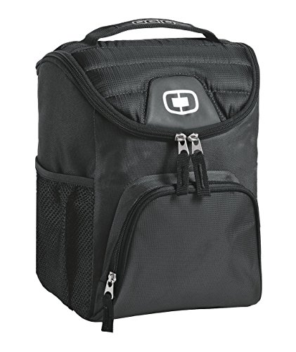 (Ogio 2015 Chill 6-12 Can Cooler, Black)