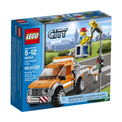 LEGO City Great Vehicles Light Repair Truck 60054 (Crane Lego Building City)