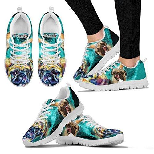 Shoes Women's Dog Your Shoetup Pug Dog Breed Print Running Choose Beautiful Casual A6wTqwgx