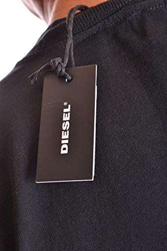 Diesel Herren MCBI326014O Schwarz Baumwolle T-Shirt