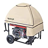 GenTent Safety Canopies 10k Running Cover for Portable Generators-Universal Fit in TanLight