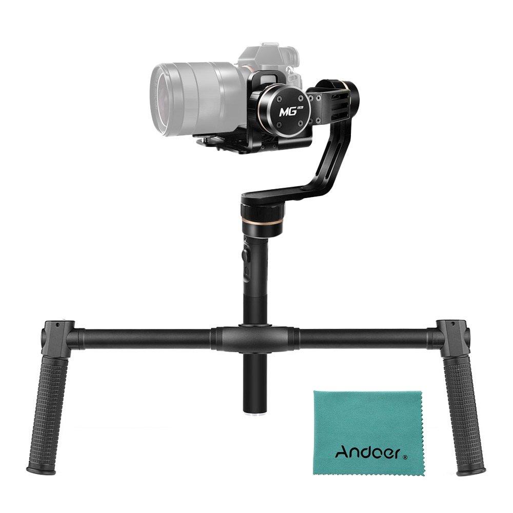 [並行輸入品]FeiyuTech MG Lite 3軸 ハンドヘルド ミラーレスカメラ ジンバル スタビライザー Andoer デュアル ハンドグリップ ブラケットキット付きソニー A7シリーズ NEX-5N/NEX-7 Nシリーズ用 キヤノン5DマークIII パナソニックGH4用   B074177BYH