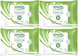 Best Simple Face Oils - Simple Oil Balancing Cleansing Wipes, 25 Count Review