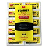 50 Feather Razor Blades NEW Hi-stainless Double