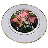 Home of Cairns 4 Dogs Playing Poker Porcelain Plate