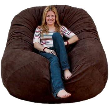 Amazon Com Cozy Sack 6 Feet Bean Bag Chair Large