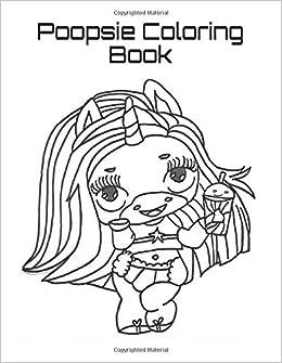 Poopsie Coloring Book