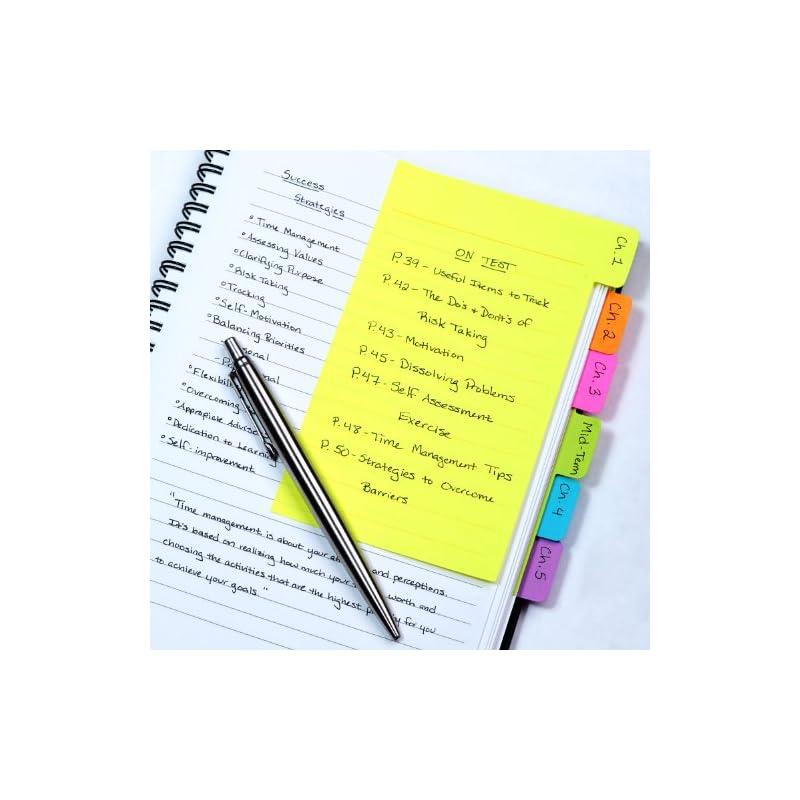 Redi-Tag Divider Sticky Notes, Tabbed Se
