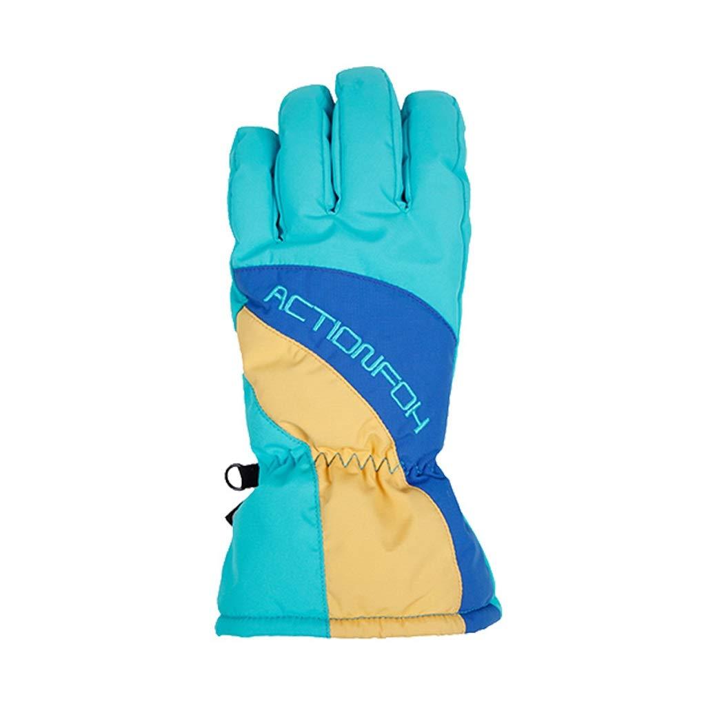 HU Outdoor Wasserabweisende Handschuhe für Männer und Frauen, die Winddichte warme Handschuhe Fahren