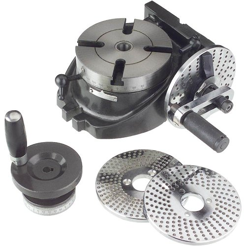 Grizzly H5940 Rotary Table with Indexing 4-Inch