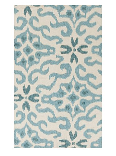 Surya Kate Spain MRS2008-811 Hand Woven Casual Area Rug, 8-Feet by 11-Feet, Multicolor by Surya