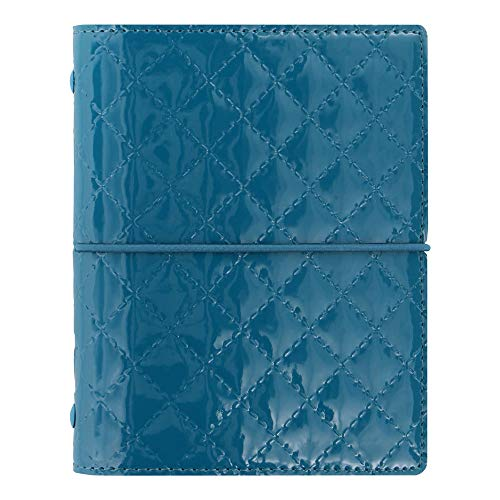 Pocket Organizer Domino - Filofax 2019 Pocket Organizer, Domino Luxe Teal, 4.75 x 3.25 inches (C027993-19)