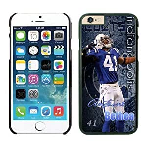 NFL Case Cover For Apple Iphone 5/5S Indianapolis Colts Antoine Bethea Black Case Cover For Apple Iphone 5/5S Cell Phone Case ONXTWKHB1878